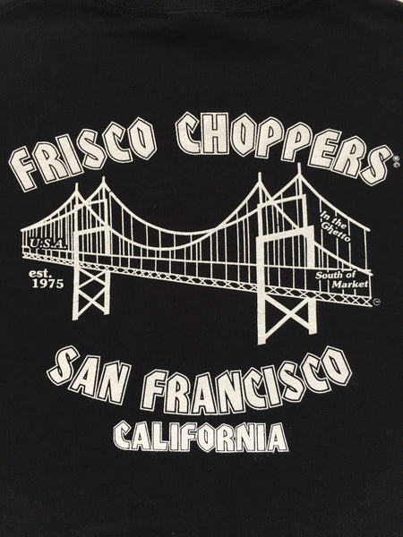 Frisco Choppers Short Sleeve - Black & Yellow