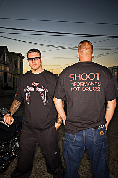 Crime Inc. with Guns Short Sleeve