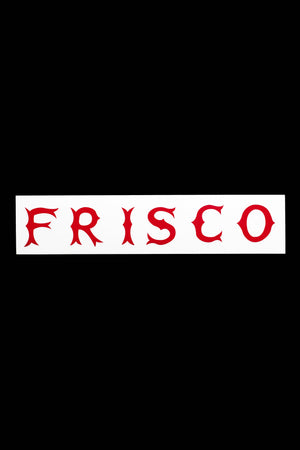 Frisco Horizontal Sticker