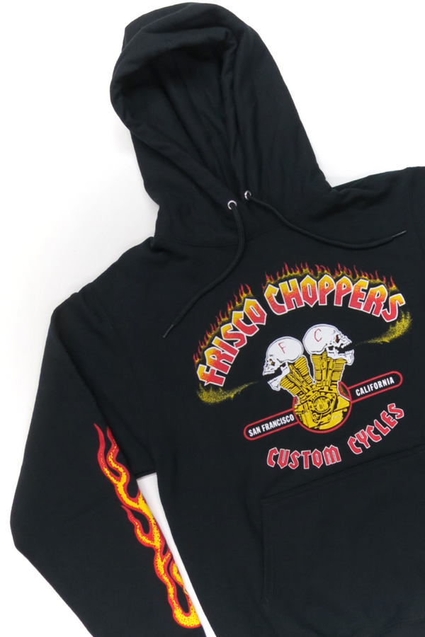 Frisco Choppers Hooded Sweatshirt
