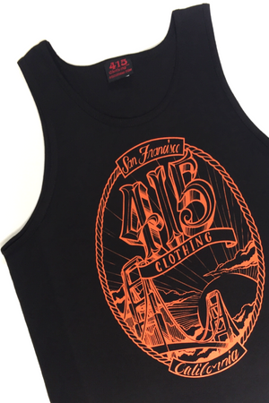 San Francisco Bridge Men's Tank Top