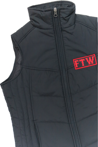 FTW Ladies Puffy Vest