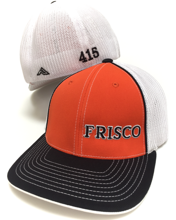 Frisco Side Stitch Trucker Curved Bill