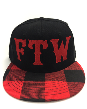 FTW Plaid Snapback Hat