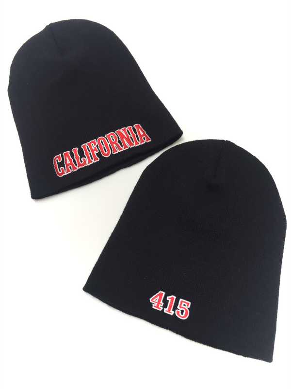 California 415 Knit Beanie Cap