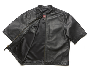 415 Leather Original 3/4 Sleeve Chop Jacket