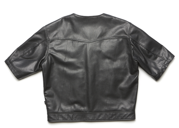 415 Leather 3/4 Sleeve Vest/Jacket