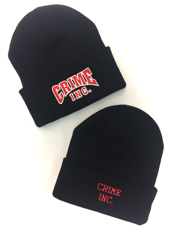 Crime Inc. Cuffed Knit Beanie Cap