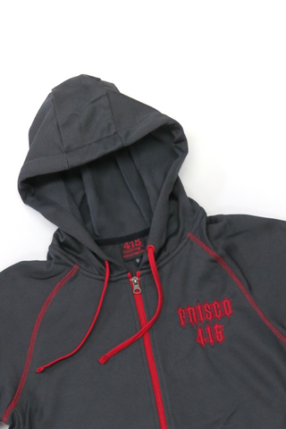 Frisco 415 Carbon Fiber Hooded Zipper