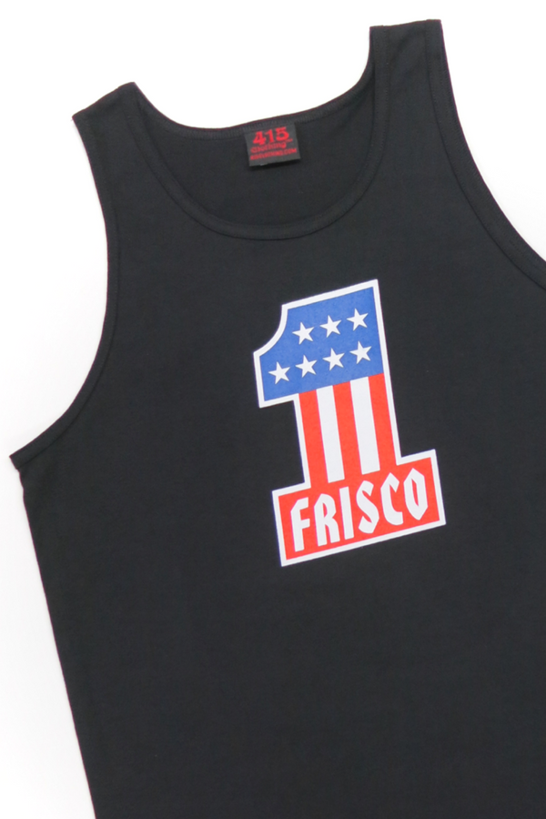 Frisco #1 Men's Black Tank Top