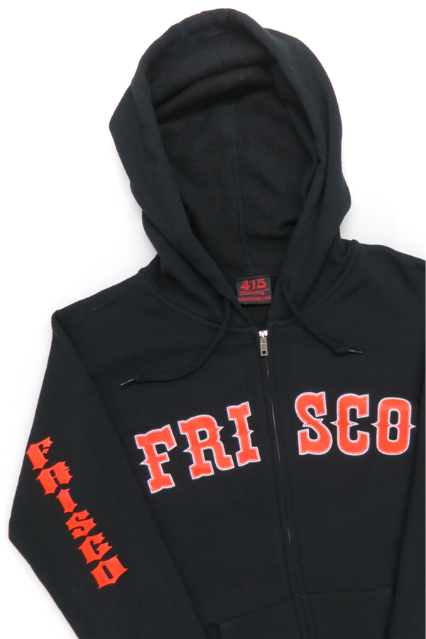 Frisco 415 Ladies Hooded Zipper Sweatshirt