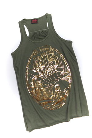 San Francisco Bridge Ladies Racerback Tank Top