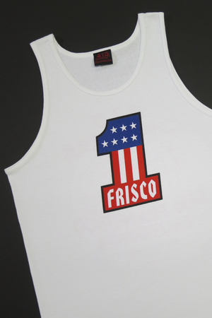 Frisco #1 Men's White Tank Top