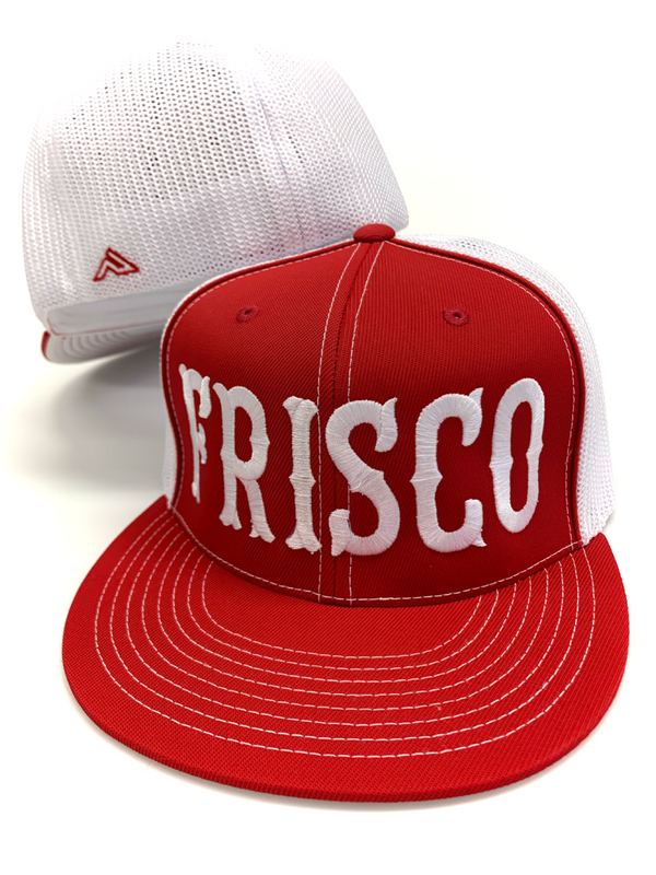 Large Frisco Flat Bill Trucker Hat