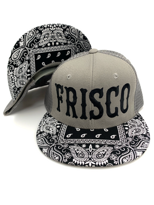 Large Frisco Bandana Trucker Hat