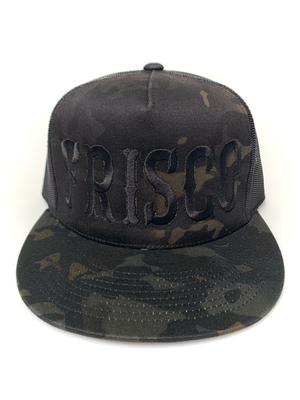 Large Frisco Camo Trucker Hat