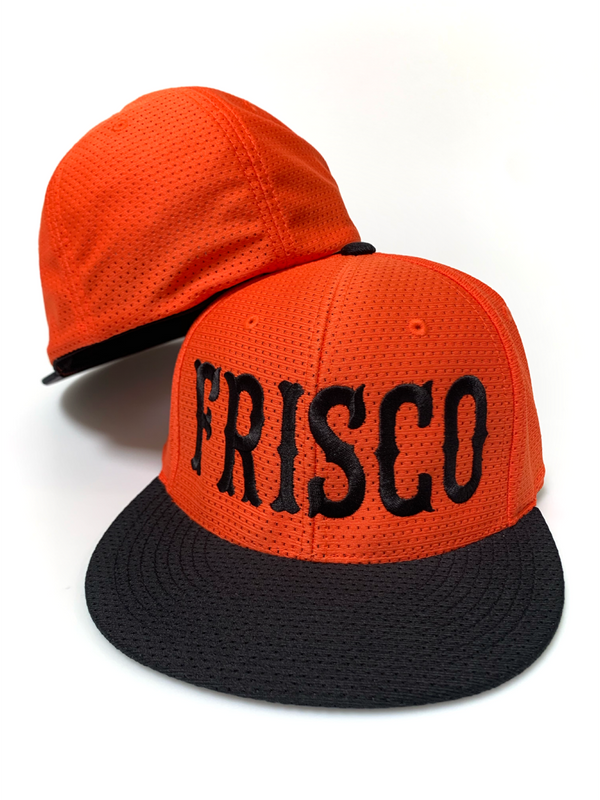 Large Frisco Air Jersey Flat Bill Hat