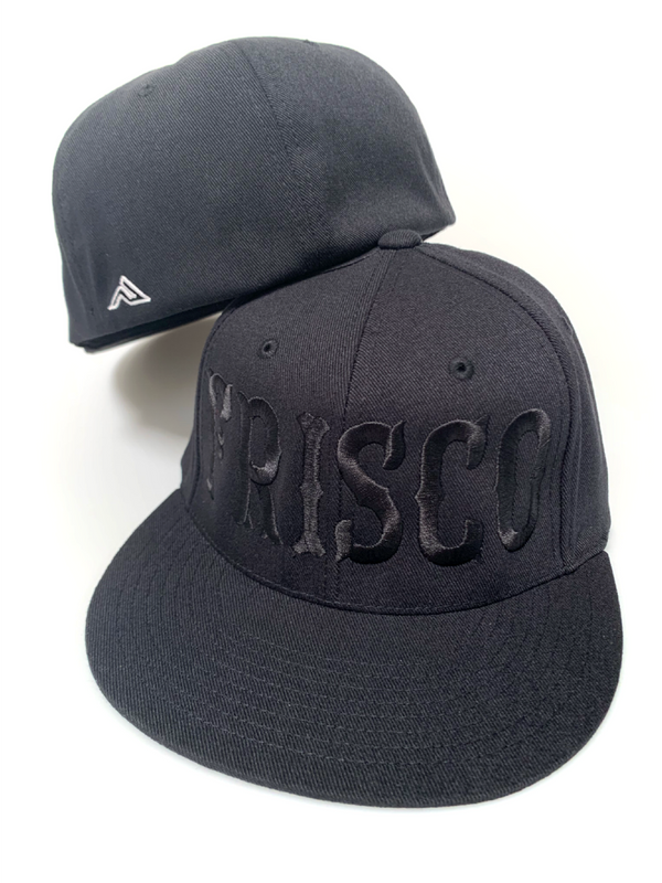 Large Front Frisco Flat Bill Hat