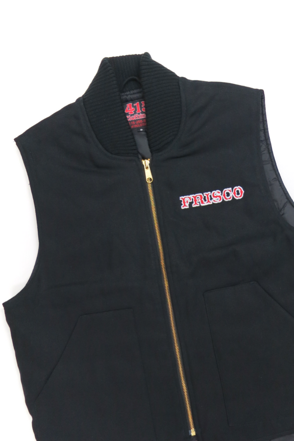 Frisco 415 Embroidered Canvas Vest