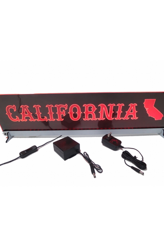 California LED Sign