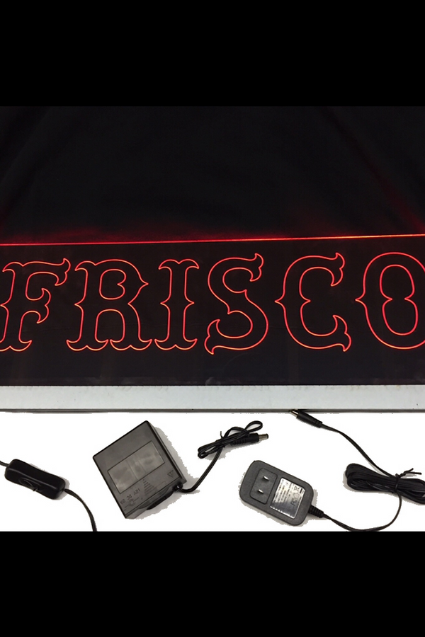 Frisco LED Sign
