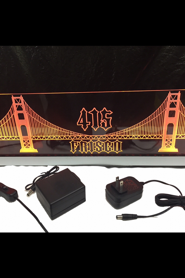 Frisco 415 Bridge LED Sign