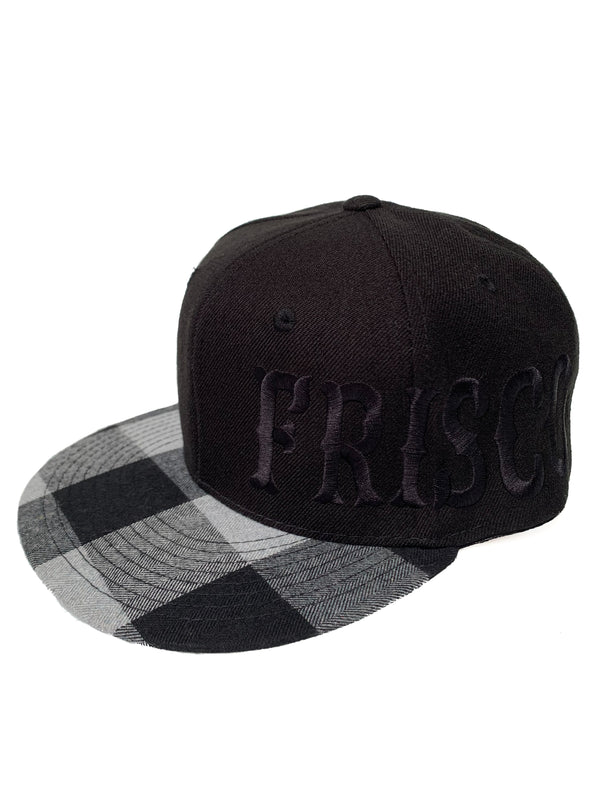 Large Frisco Plaid Snapback Hat