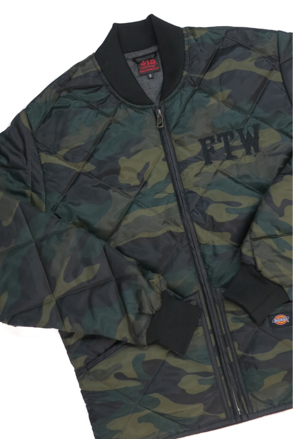 FTW Camo Quilted Jacket
