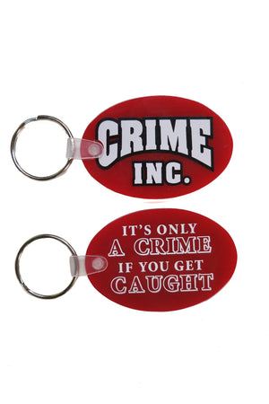 Crime Inc. Key Chain