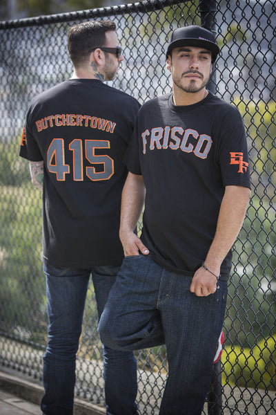 Butchertown Baseball Short Sleeve