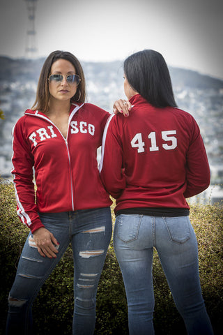 Frisco 415 Unisex Red Track Jacket