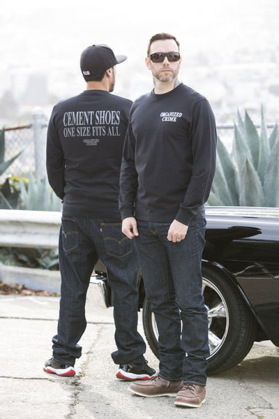 Organized Crime Small Logo Long Sleeve