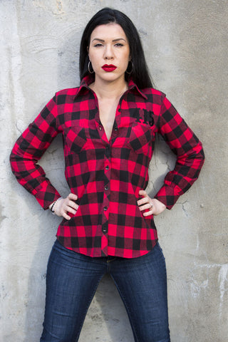 Ladies 415 Flannel