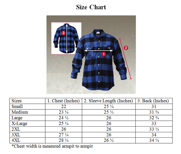 415 Embroidered Flannel