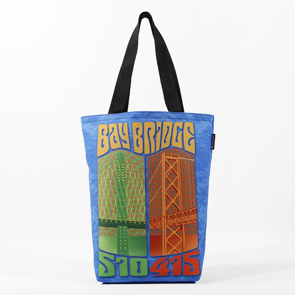 Groovy Bay Bridge Tote Bag