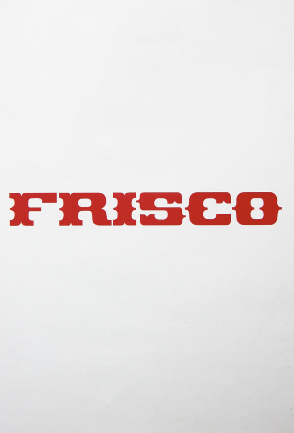 Frisco Vinyl Sticker