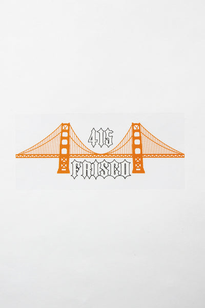 Frisco 415 Bridge Sticker