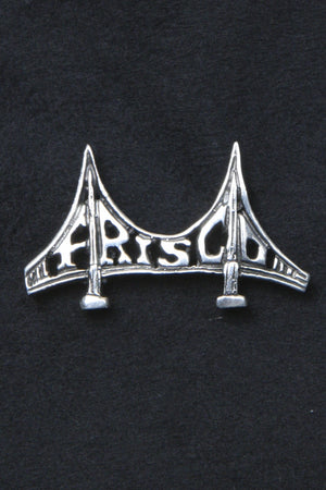 Frisco Bridge Sterling Silver Pin