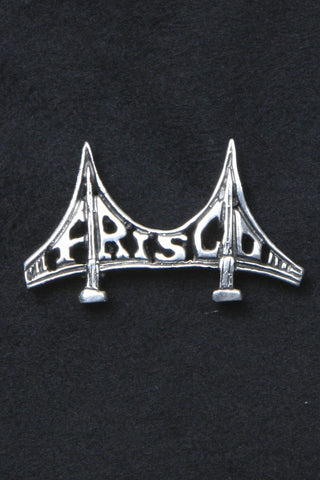 Frisco Bridge Pin