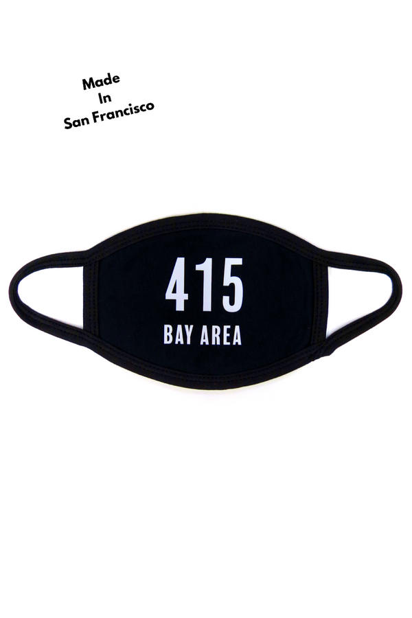 415 Bay Area Reusable Face Mask