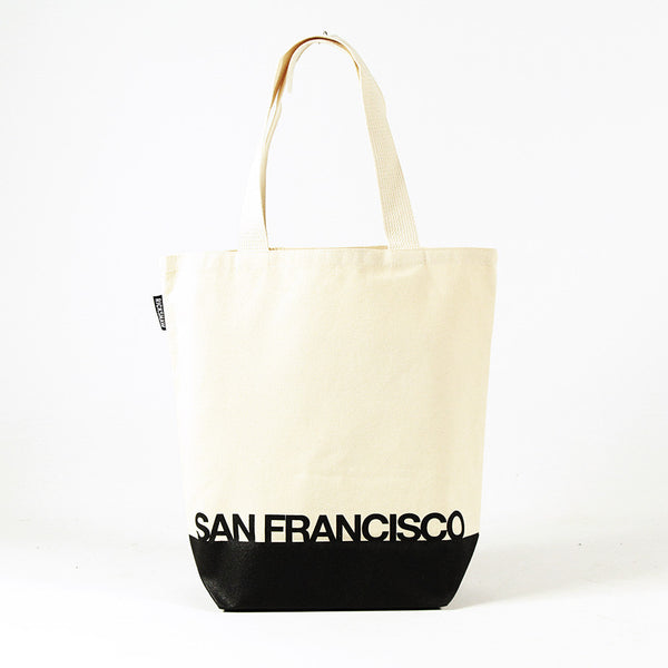 SF Map Grocery Tote