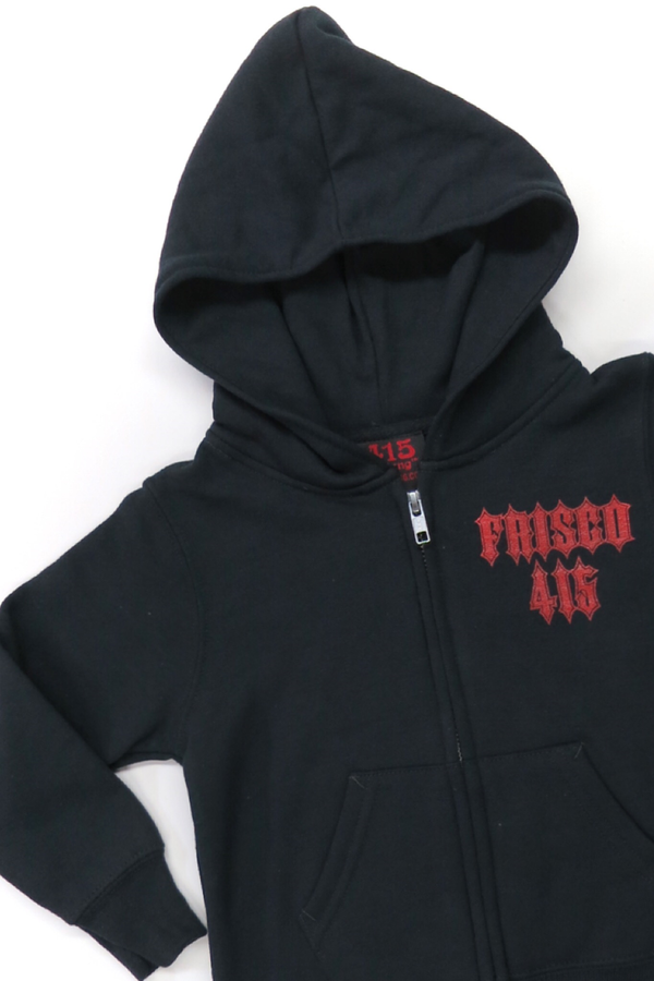 Frisco 415 DTP Hooded Zipper Sweatshirt