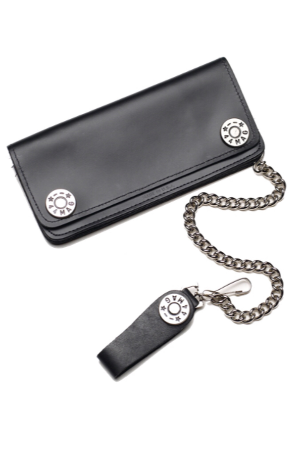 Bullet Shell Leather Wallet 8""