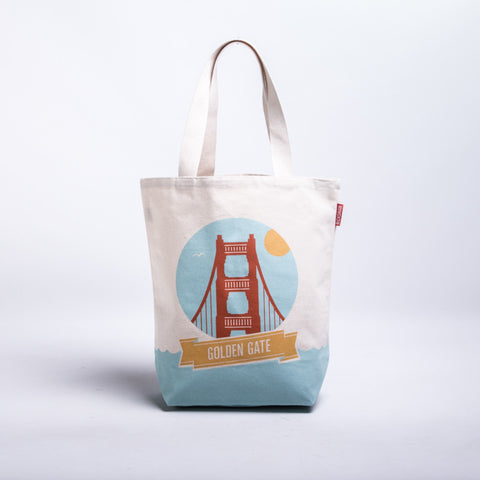 Landmark Golden Gate Tote Bag