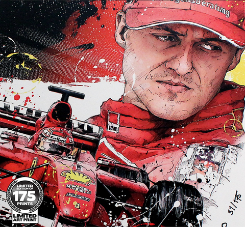 SKETCH - MICHAEL SCHUMACHER