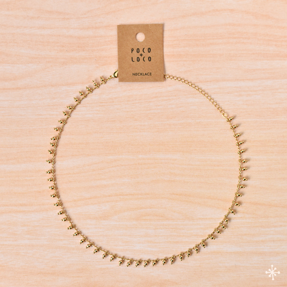 Necklace Gold Plain