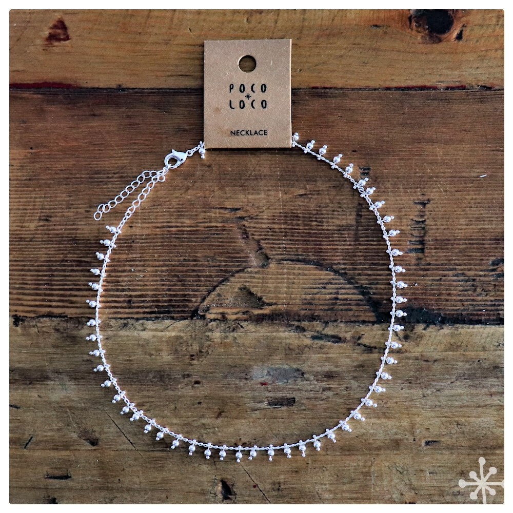 Chain Necklace Silver Plain
