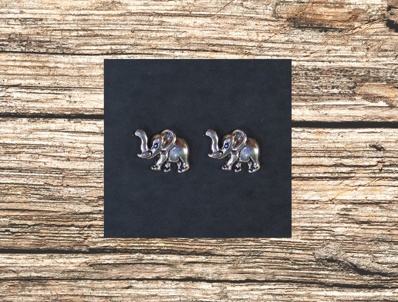 Elephants Stud Earrings