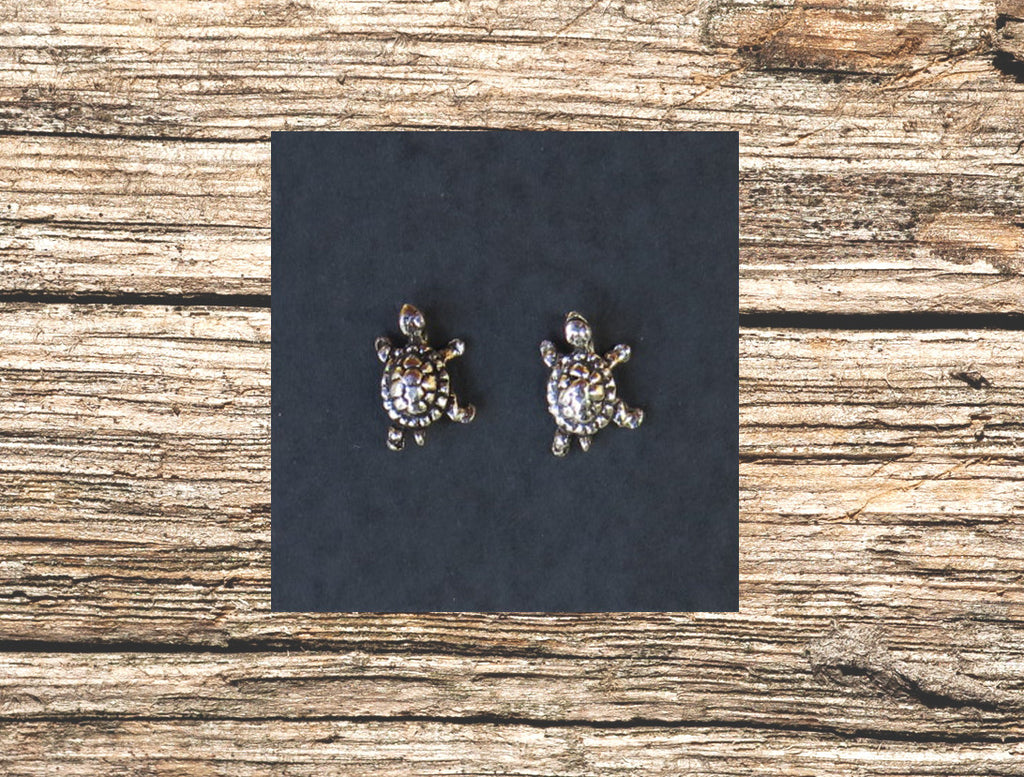 earrings products turtle rosegoldearrings stud org turtlepak the