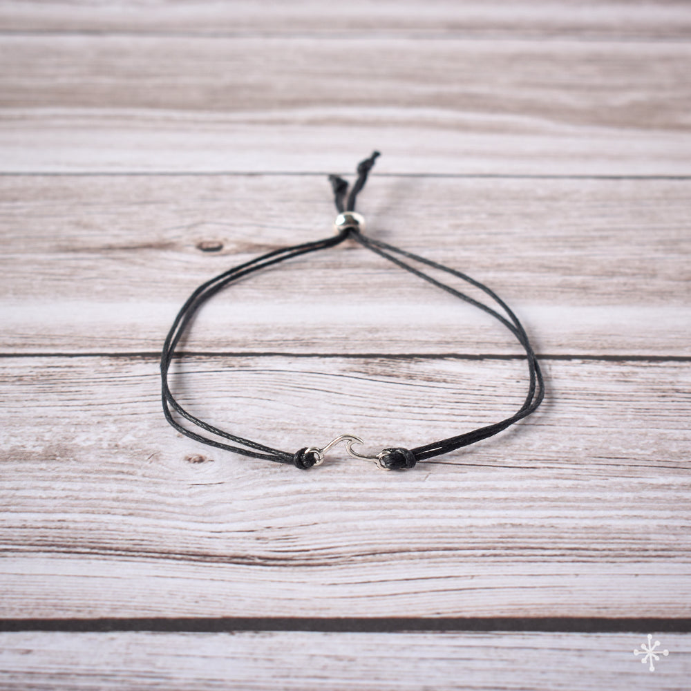 Bracelet Wave Small Black